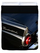 1955 Ford Thunderbird Duvet Cover