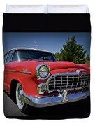 1955 Hudson Wasp Duvet Cover