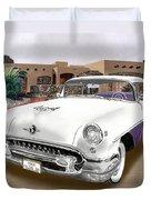 1955 Oldsmobile Super 88 Duvet Cover