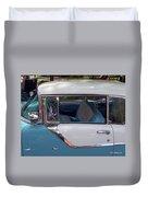 1955 Pontiac Star Chief Duvet Cover