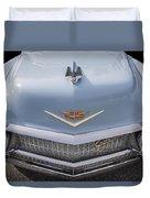 1956 Cadilac Sedan De Ville Smiling Duvet Cover