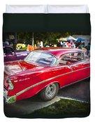 1956 Chevrolet Bel Air 210 Duvet Cover