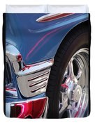 1956 Chevrolet Handyman Wagon Wheel -179c Duvet Cover