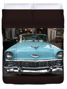1956 Chevy Bel-air Duvet Cover