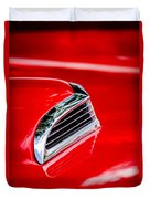 1956 Ford Thunderbird Hood Scoop -287c Duvet Cover