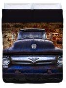 1956 Ford V8 Duvet Cover