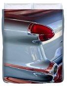 1956 Oldsmobile Taillight Duvet Cover
