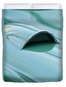1957 Chevrolet Corvette Scoop 2 Duvet Cover