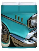 1957 Chevy Bel Air Duvet Cover