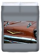 1957 Chevy II Duvet Cover