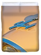 1957 Oldsmobile Hood Ornament 6 Duvet Cover