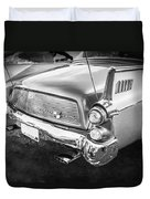 1957 Studebaker Golden Hawk Bw    Duvet Cover