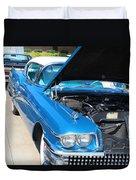 1958 Buick Duvet Cover