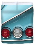 1958 Chevrolet Impala Taillights  Duvet Cover