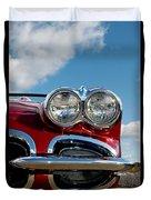 1958 Corvette Duvet Cover