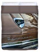 1958 Ford Fairlane 500 Skyliner Duvet Cover