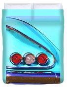 1958 Impala Palm Springs Duvet Cover