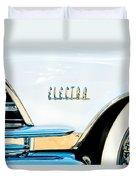 1959 Buick Electra Emblem Duvet Cover