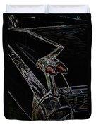 1959 Caddy Art Duvet Cover by Steve McKinzie