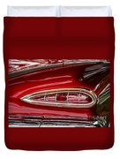1959 Chevrolet Taillight Duvet Cover