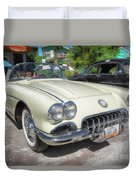 1959 Corvette Duvet Cover