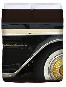 1959 Desoto Adventurer Convertible Wheel Duvet Cover