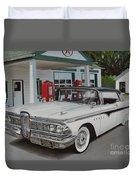 1959 Edsel Ranger Duvet Cover
