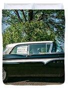 1959 Edsel Duvet Cover