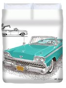 Retractable Hard Top Duvet Cover
