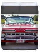 1959 Impala Hardtop Sport Coupe Duvet Cover
