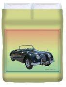 1959 Jaguar 150 S S Drop Head Coupe Duvet Cover