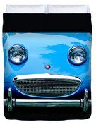 1960 Austin-healey Sprite Duvet Cover by Jill Reger