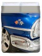 1960 Chevrolet Bel Air 012315 Duvet Cover