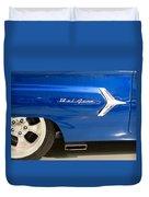 1960 Chevrolet Bel Air 3 012315 Duvet Cover