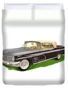 1960 Continental Convertible Duvet Cover