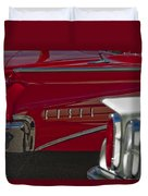 1960 Edsel Taillight Duvet Cover by Jill Reger