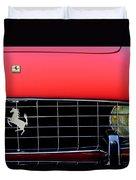 1960 Ferrari 250 Gt Cabriolet Pininfarina Series II Grille Emblem Duvet Cover