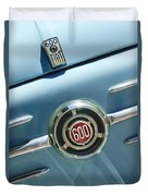 1960 Fiat 600 Jolly Emblem Duvet Cover