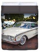 1960 Ford Starliner Duvet Cover
