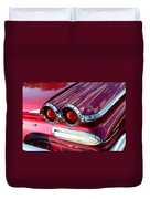 1960 Jet Engine Styling Duvet Cover