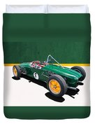 1960 Lotus 18 Fj Duvet Cover