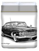 Plymouth Fury Duvet Cover