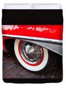 1960 Starliner Duvet Cover