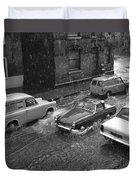 1960's Classic Cars    Ref-252 Duvet Cover