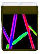 1960s Neon Duvet Cover