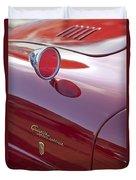 1961 Alfa Romeo Giulietta Sprint Speciale Emblem Duvet Cover