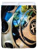 1961 Alfa Romeo Giulietta Sprint Speciale Wheel Emblem -0051c Duvet Cover