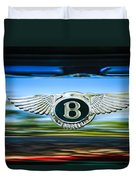 1961 Bentley S2 Continental - Flying Spur - Emblem Duvet Cover