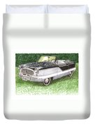 1961 Nash Metro Convertible Duvet Cover
