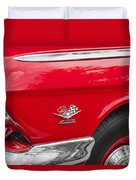 1962 Chevy Impala 409 Duvet Cover